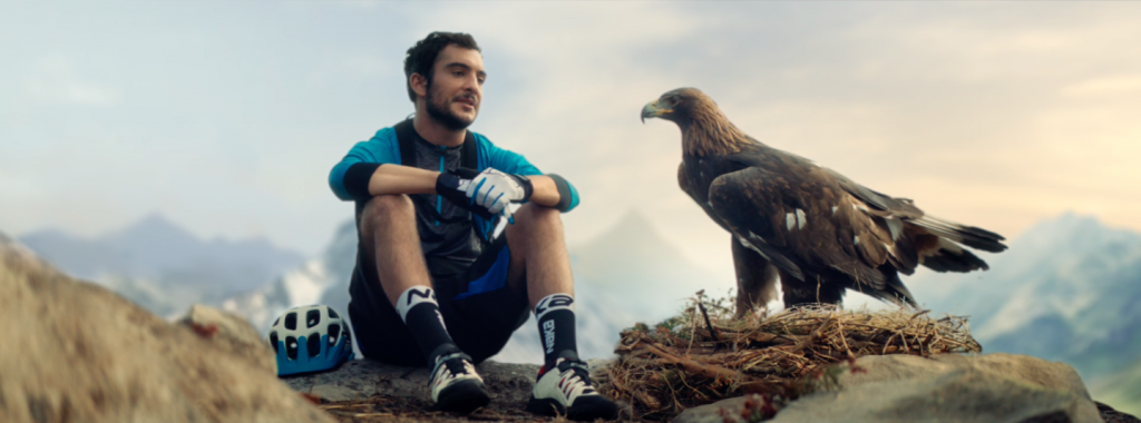 FILM SPOT TV PUBLICITAIRE AIGLE INTERSPORT